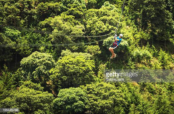 kid during a Zip-line Tour Guatemala