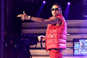 Kid Ink performs onstage at the BET Hip Hop Awards Show 2015 at the Atlanta Civic Center on October 9 2015 in Atlanta Georgia