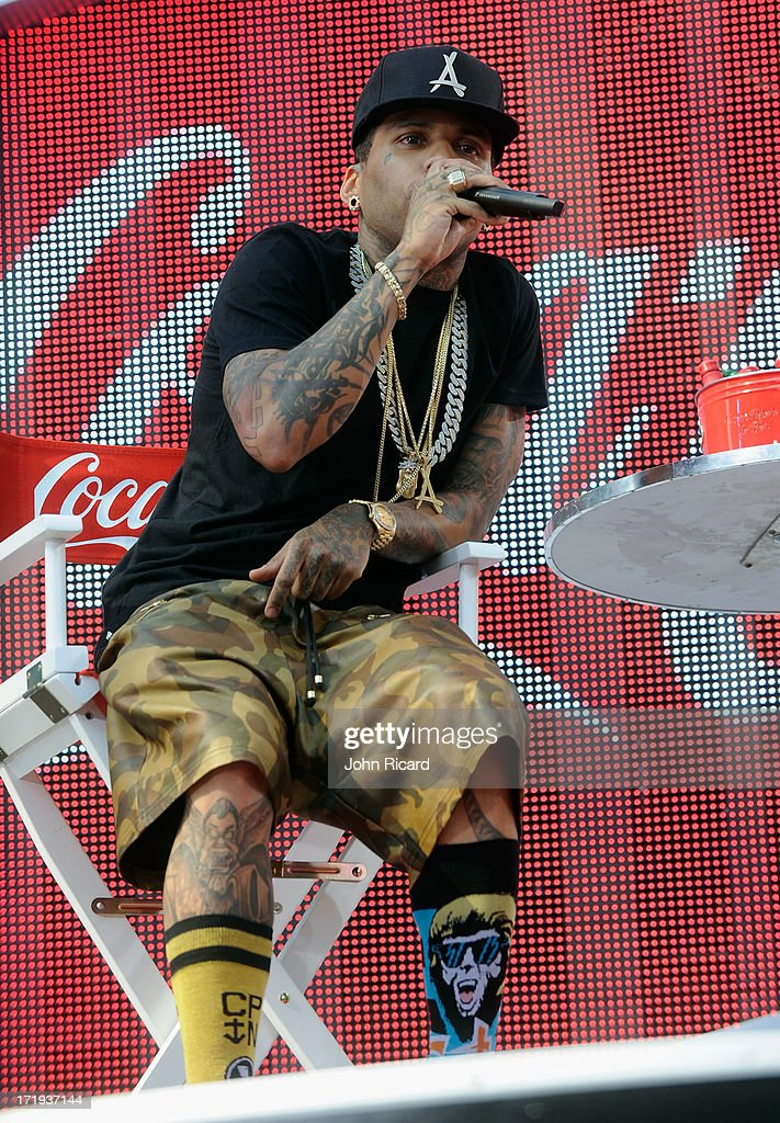<a gi-track='captionPersonalityLinkClicked' href=/galleries/search?phrase=Kid+Ink+-+Rapper&family=editorial&specificpeople=8191530 ng-click='$event.stopPropagation()'>Kid Ink</a> performs onstage during at 106 & Park Live presented by Coke during the 2013 BET Experience at L.A. LIVE on June 29, 2013 in Los Angeles, California.