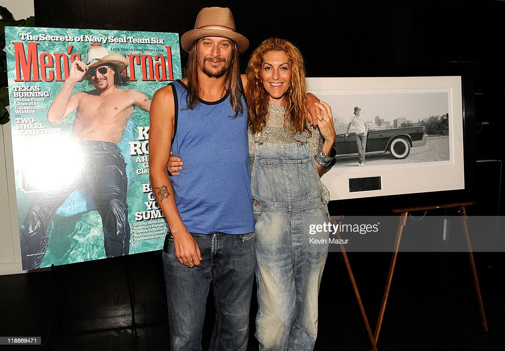 Kid Rock and Atlantic Records Chairman Julie Greenwald attend the 'Born Free' platinum party at The Hotel on Rivington Penthouse on July 11, 2011 in New York City.