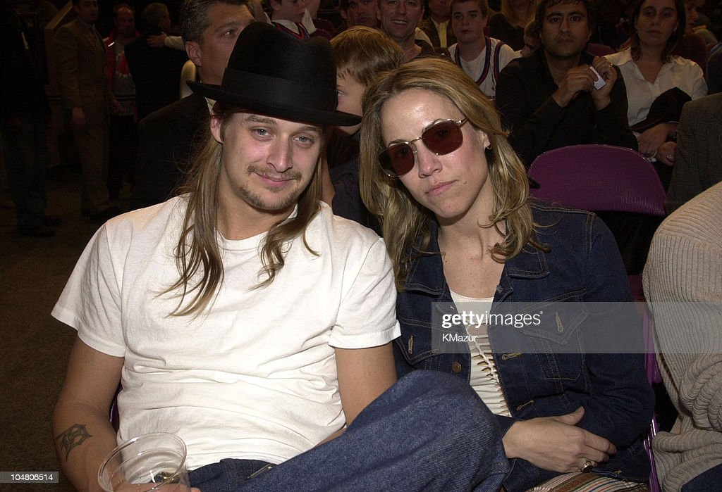 <a gi-track='captionPersonalityLinkClicked' href=/galleries/search?phrase=Kid+Rock&family=editorial&specificpeople=171123 ng-click='$event.stopPropagation()'>Kid Rock</a> and <a gi-track='captionPersonalityLinkClicked' href=/galleries/search?phrase=Sheryl+Crow&family=editorial&specificpeople=201867 ng-click='$event.stopPropagation()'>Sheryl Crow</a> during <a gi-track='captionPersonalityLinkClicked' href=/galleries/search?phrase=Kid+Rock&family=editorial&specificpeople=171123 ng-click='$event.stopPropagation()'>Kid Rock</a> and <a gi-track='captionPersonalityLinkClicked' href=/galleries/search?phrase=Sheryl+Crow&family=editorial&specificpeople=201867 ng-click='$event.stopPropagation()'>Sheryl Crow</a> at Knicks Game at KID ROCK_SHERYL CROW1 in New York City, New York, United States.
