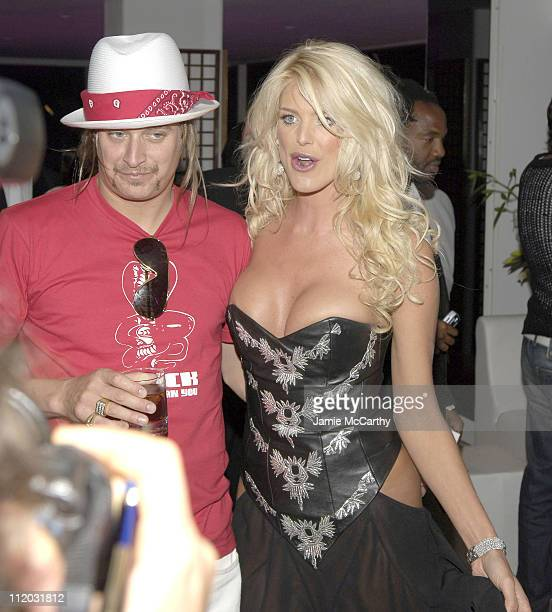 Kid Rock and Victoria Silvstedt during 2005 Cannes Film Festival de Grisogono Party at Hotel Du Cap in Cannes France