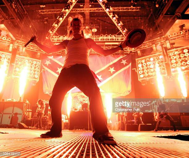 Kid Rock during Kid Rock's 4th of July Performance at Trump Taj Mahal Casino at Trump Taj Mahal Casino in Atlantic City New Jersey United States