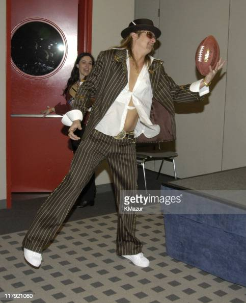 Kid Rock during The AOL TopSpeed Super Bowl XXXVIII Halftime Show Produced by MTV Press Conference at George Brown Convention Center in Houston Texas...