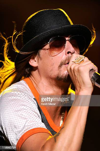 Kid Rock performs at PNC Bank Arts Center on July 12 2011 in Holmdel New Jersey