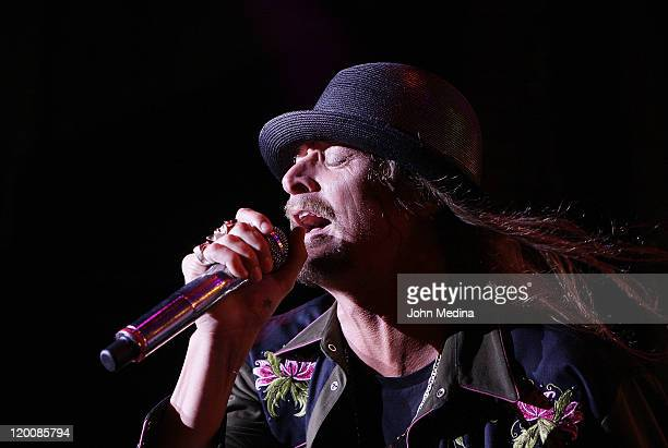 Kid Rock performs at Shoreline Amphitheatre on July 29 2011 in Mountain View California