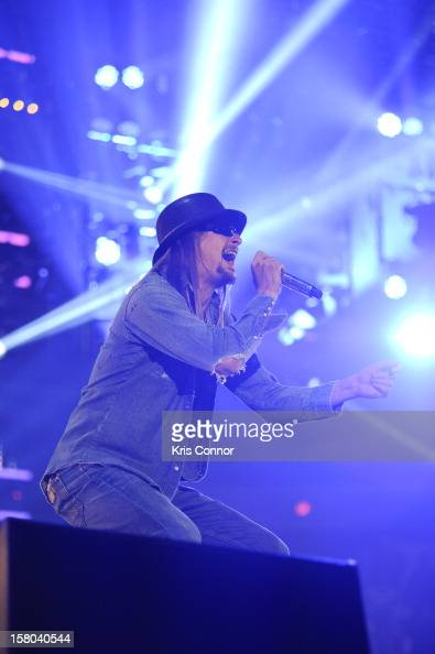 Kid Rock performs during the 10th anniversary of WWE Tribute to the Troops at Norfolk Scope Arena on December 9 2012 in Norfolk Virginia