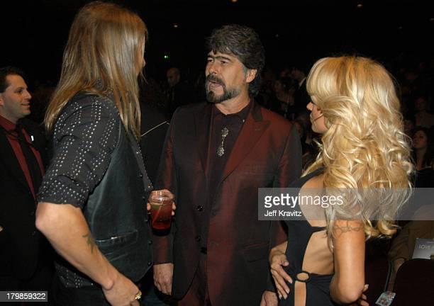 Kid Rock Randy Owen of Alabama and Pamela Anderson
