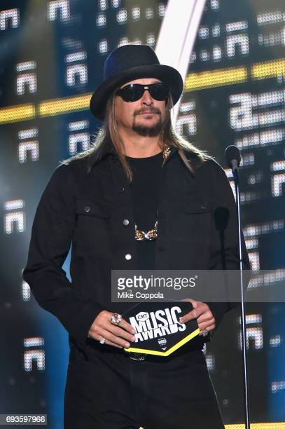 Kid Rock speaks onstage during the 2017 CMT Music Awards at the Music City Center on June 6 2017 in Nashville Tennessee