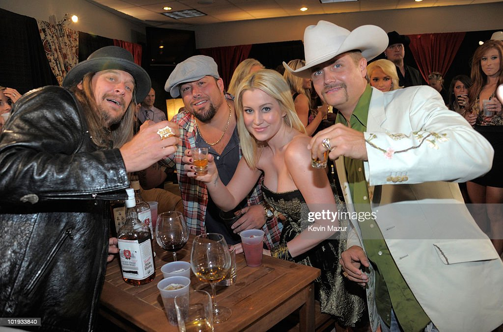 Kid Rock Uncle Kracker Kellie Pickler and John Rich attend the 2010 CMT Music Awards at the Bridgestone Arena on June 9 2010 in Nashville Tennessee