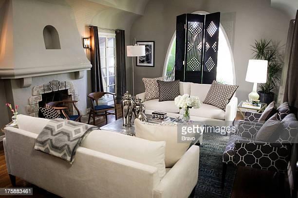 LEWIS 'Kid Rules' Episode 205 Pictured Living Room after renovation