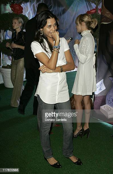Kidada Jones during Disney's Alice in Wonderland Mad Tea Party at Private Residence in Los Angeles California United States