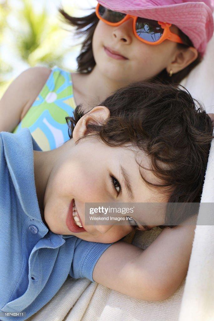 Crociere a misura di bambino : Foto stock