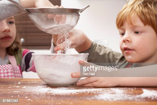 Kids at Home : Stock Photo