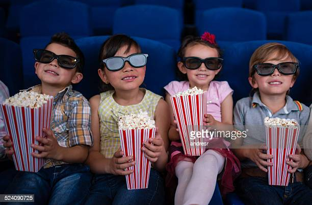 Kids at the cinema