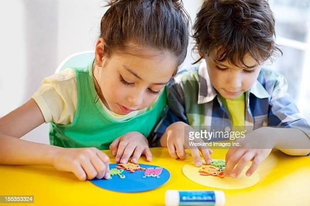 Les enfants artisanat