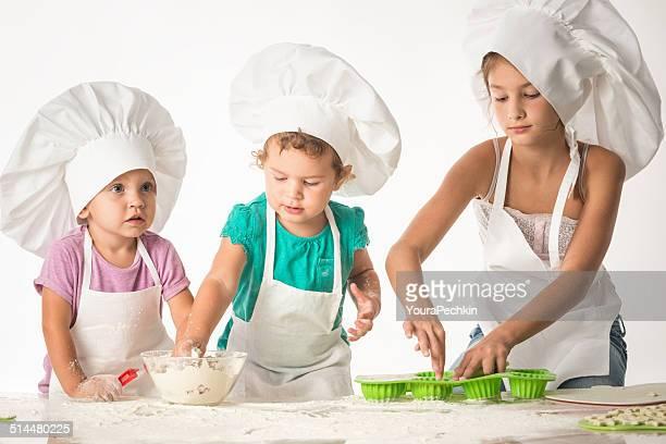 Kinder-Spaß-Köche paty