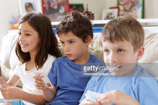 Kids having fun : Stock Photo