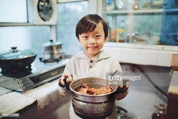 Für die Kinderprogramme Kids in the kitchen