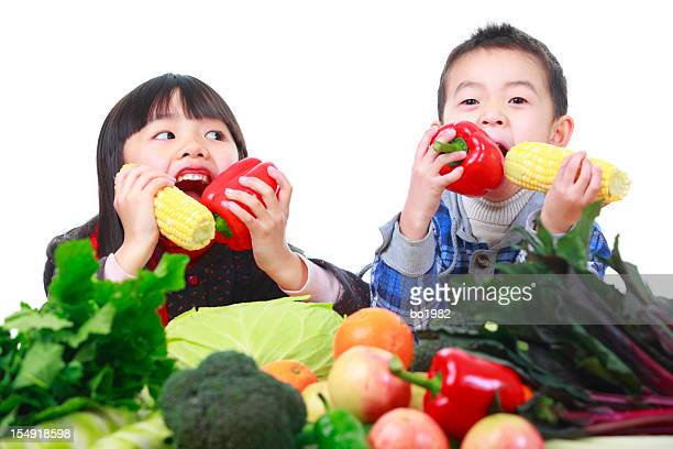 kids like vegetable