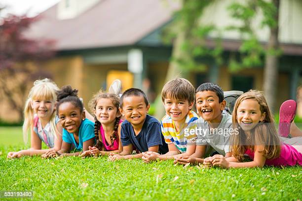 Kids outside