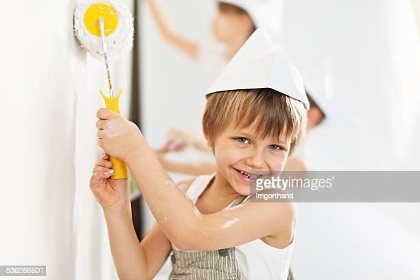 Kinder malen Ihre Heimat