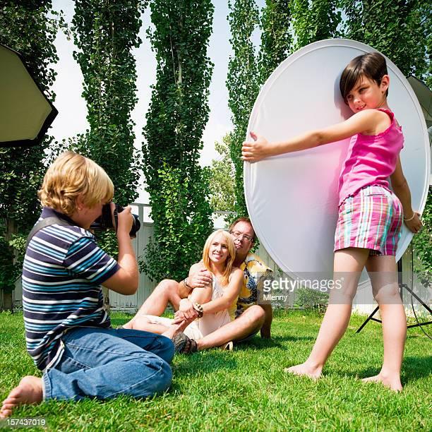 Kids' Photo Shoot -Turn Upside Down Concept