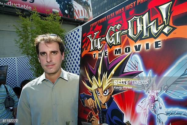 Kids Productions Norman Grossfeld arrives for the premiere of Warner Bros 'YuGiOh The Movie' at the Chinese Theater August 7 2004 in Los Angeles...