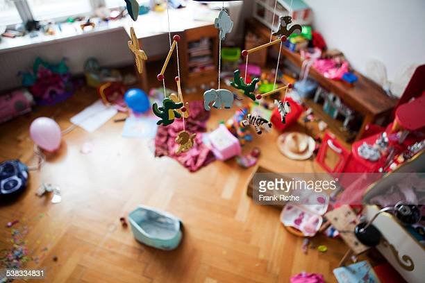 kids room in chaos