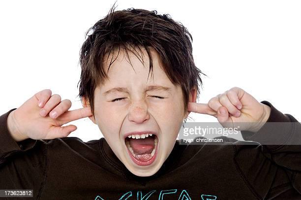 Kinder-lustige kleine Junge (XL