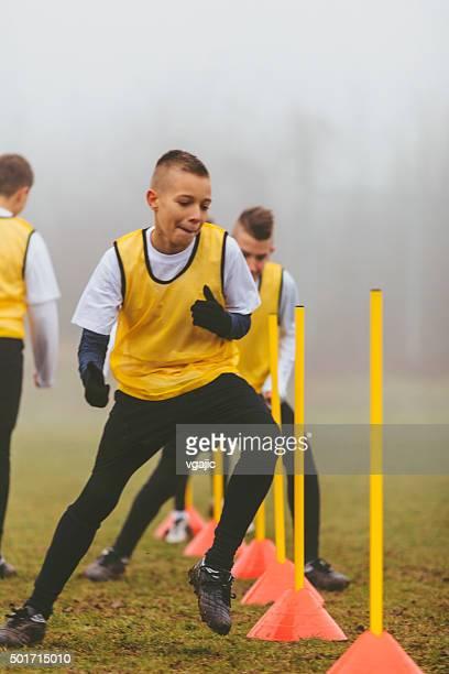 Kinder Fußball -.