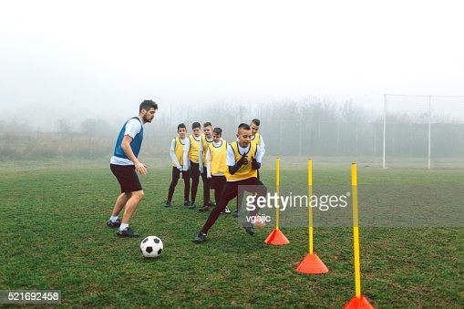 Kids Soccer Training.