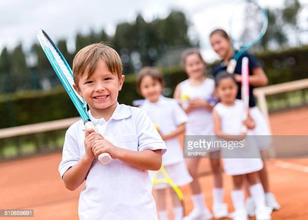 teking Tennisunterricht für Kinder