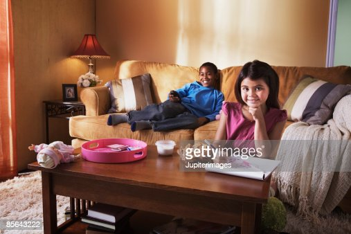 kids watching tv and eating. kids watching tv and eating i
