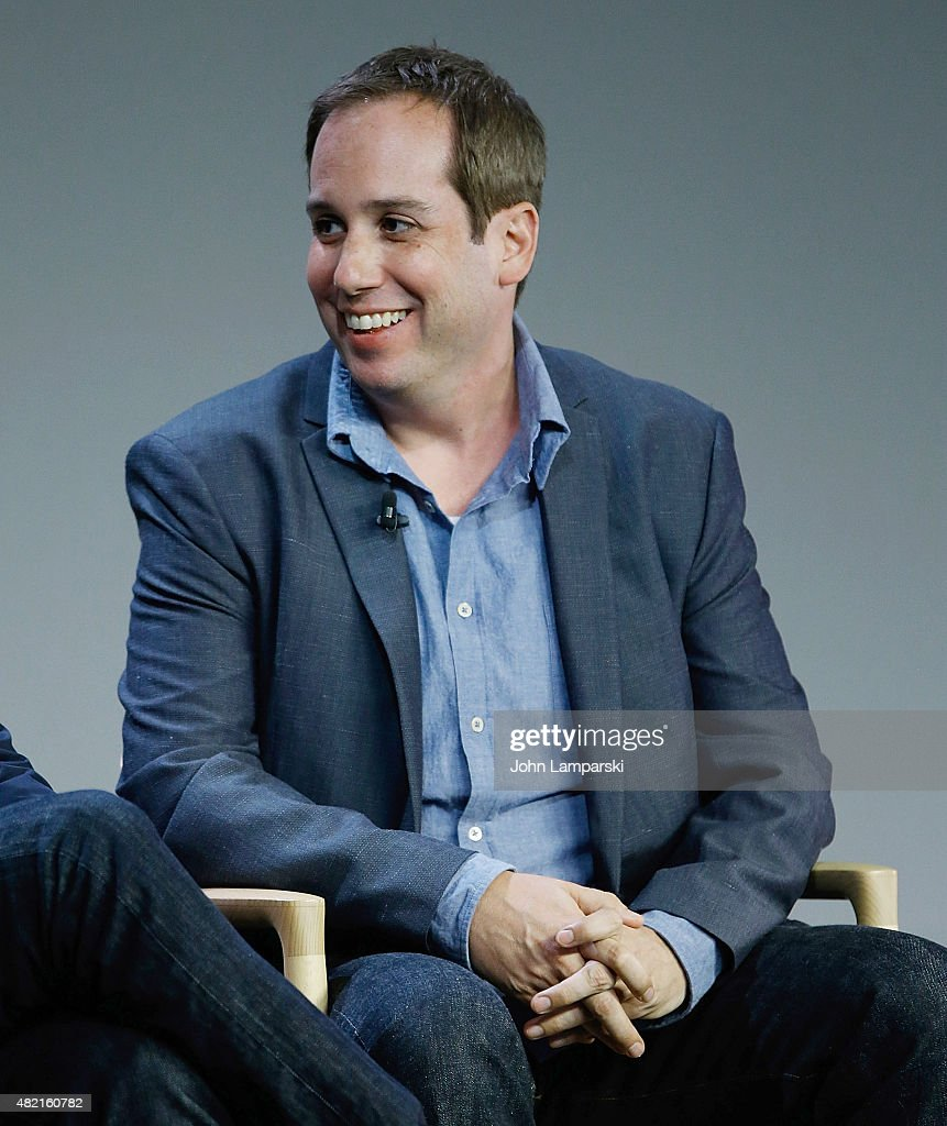 Kief Davidson speaks during meet the filmmaker series, 'A Lego Brickumentary' at the Apple Store Soho on July 27, 2015 in New York City.