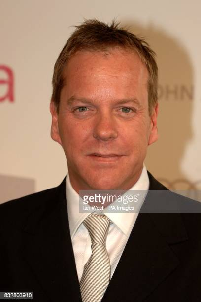 Kiefer Sutherland arrives for the annual Elton John Party at the Pacific Design Centre