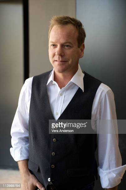 Kiefer Sutherland at the '24' press conference at The London Hotel on September 30 2009 in West Hollywood California