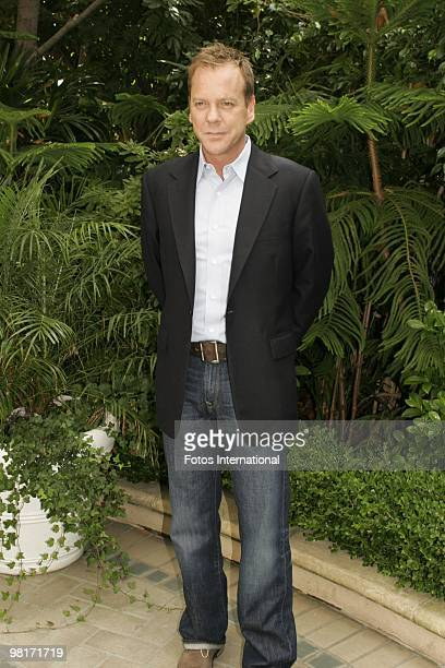 Kiefer Sutherland at the Four Seasons Hotel in Beverly Hills California on September 28 2008 Reproduction by American tabloids is absolutely forbidden
