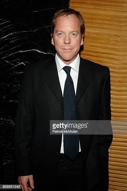 Kiefer Sutherland attends MEN'S VOGUE hosts a Private Screening of the Season Premiere of '24' at The Core Club on January 11 2007 in New York City