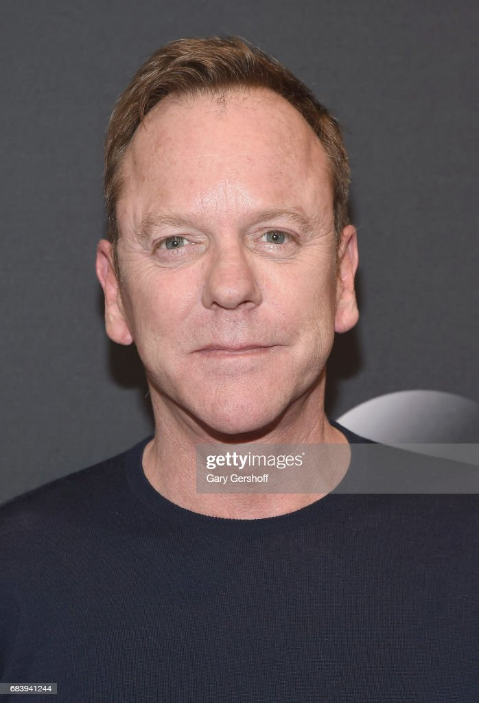 Kiefer Sutherland attends the 2017 ABC Upfront event on May 16, 2017 in New York City.