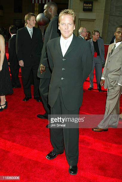 Kiefer Sutherland during 2003 ESPY Awards Arrivals at Kodak Theatre in Hollywood California United States