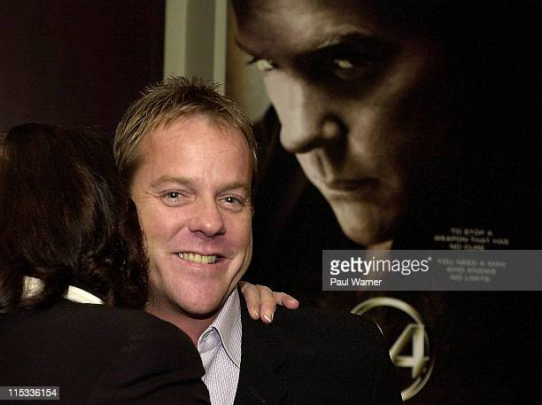 Kiefer Sutherland during '24' Detroit Screening Sponsored by Ford Motor Company at Palladium Theater in Birmingham Michigan United States