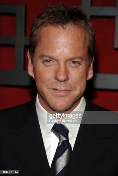 Kiefer Sutherland during FOX BROADCASTING COMPANY UNVEILS ITS 20062007 PROGRAMMING SCHEDULE at the Fox Upfront at Guastavino's in New York New York...