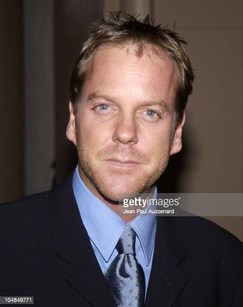 Kiefer Sutherland during Los Angeles Free Clinic's 26th Annual Dinner Gala at Wilshire Beverly Regent Hotel in Beverly Hills California United States