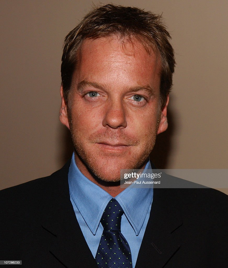 <a gi-track='captionPersonalityLinkClicked' href=/galleries/search?phrase=Kiefer+Sutherland&family=editorial&specificpeople=203142 ng-click='$event.stopPropagation()'>Kiefer Sutherland</a> during The Museum of Television and Radio Honors CBS News's Dan Rather and 'Friends' Producing Team - Inside at Beverly Hills Hotel in Beverly Hills, California, United States.