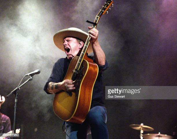 Kiefer Sutherland performs on stage at Islington Assembly Hall on June 22 in London England