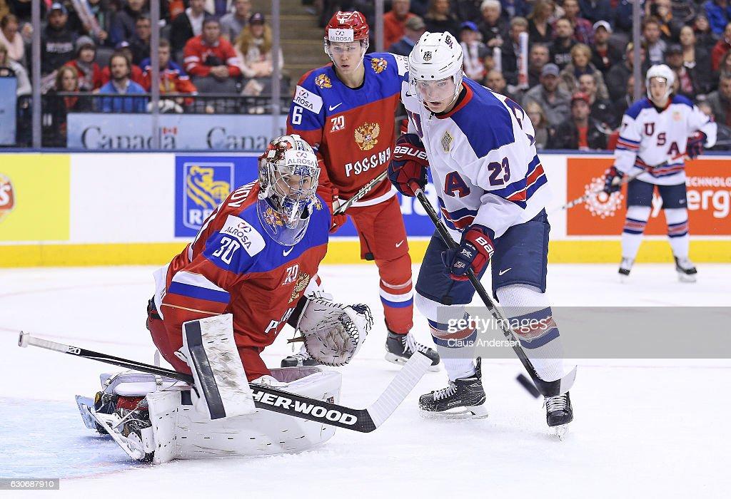Russia v United States - 2017 IIHF World Junior Championship