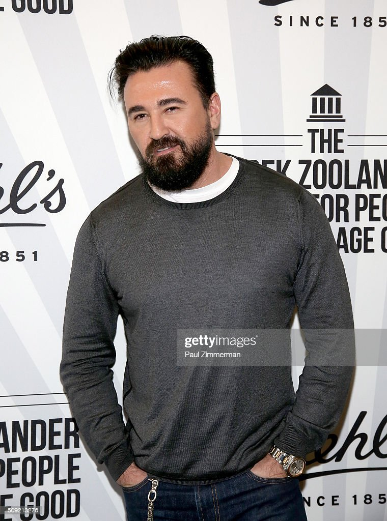 Kiehl's CEO <a gi-track='captionPersonalityLinkClicked' href=/galleries/search?phrase=Chris+Salgardo&family=editorial&specificpeople=5384803 ng-click='$event.stopPropagation()'>Chris Salgardo</a> attends The Derek Zoolander Center For People Who Don't Age Good Opening on February 9, 2016 in New York City.