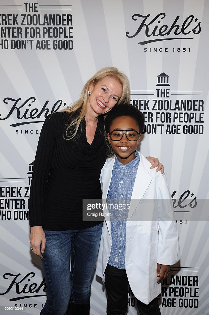 Kiehl's General Manager Worldwide Cheryl Vitali and Meliki Hurd attend Kiehl's Zoolander Center Opening on February 9, 2016 in New York City.