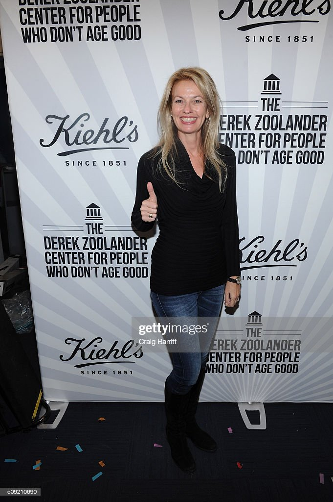Kiehl's General Manager Worldwide Cheryl Vitali attends Kiehl's Zoolander Center Opening on February 9, 2016 in New York City.